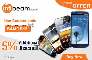 Infibeam coupon for samsung Mobiles